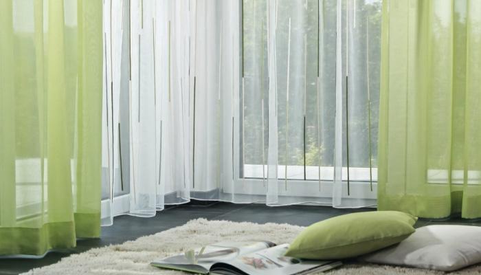 Gardinen im Wohnzimmer - optisch ansprechend und vielseitig ...