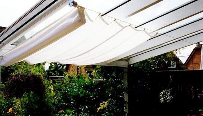 Auschecken kostenloser Versand klassische Passform Sonnensegel aufrollbar - der flexible Sonnen- und Wetterschutz